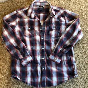 American Rag  Plaid Shirt size Large